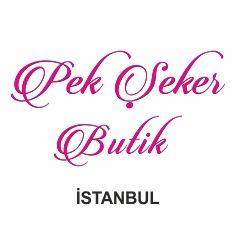 İstanbul pek şeker butik kağıt kutuları ve çantaları